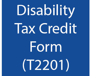 t2201 disability tax credit certificate