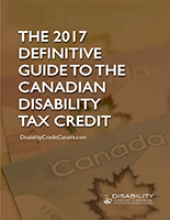 2017-A GUIDE TO THE DISABILITY TAX CREDIT