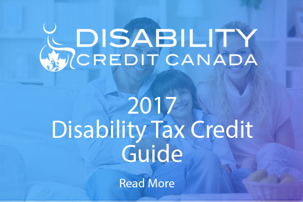 2017 Disability Tax Credit Guide