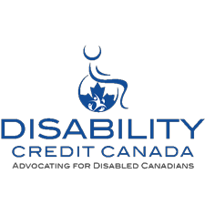 Disability Credit Canada Logo with Brand Symbol