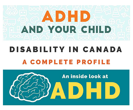 Understanding Benefits Of Adhd >> A Look at Disabilities in Canada With Info-graphics on ADHD & Disability