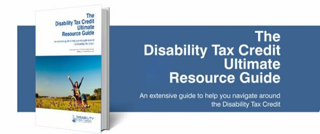 Disability Tax Credit Resource Guide
