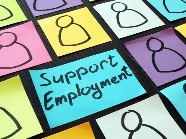 support employment