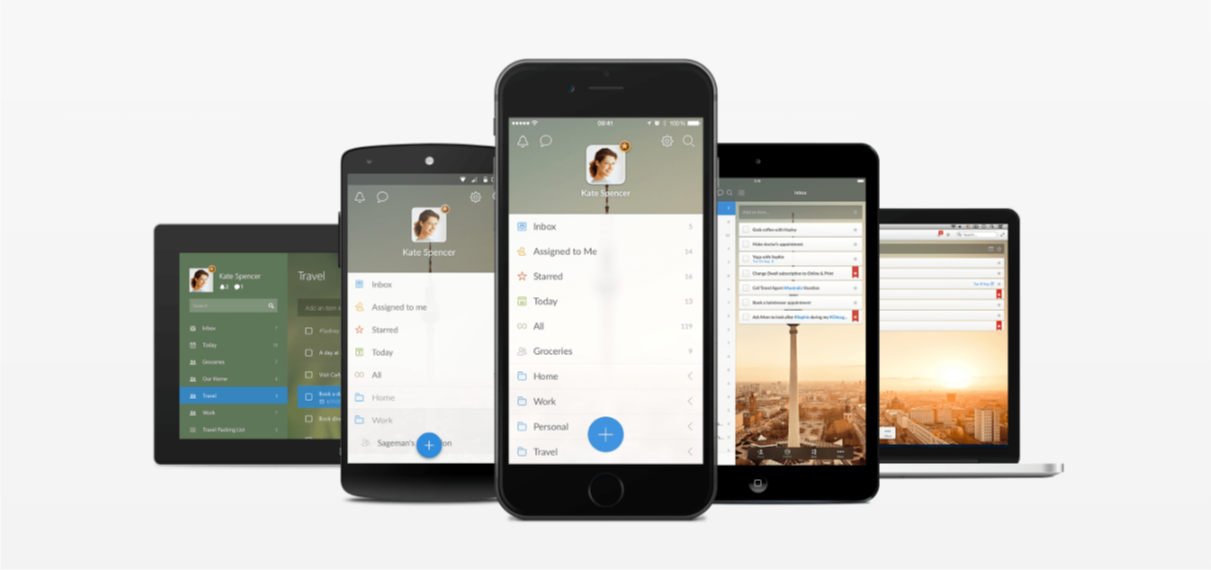 Wunderlist-ADHD/ADD mobile apps